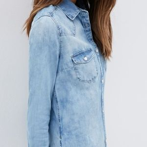 Forever21 Denim Shirt
